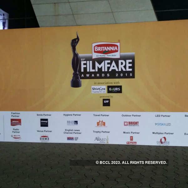 61st Britannia Filmfare Awards: Preparations