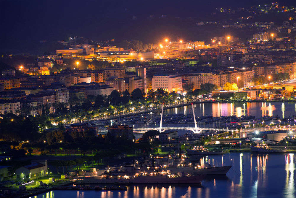 Naples to La Spezia