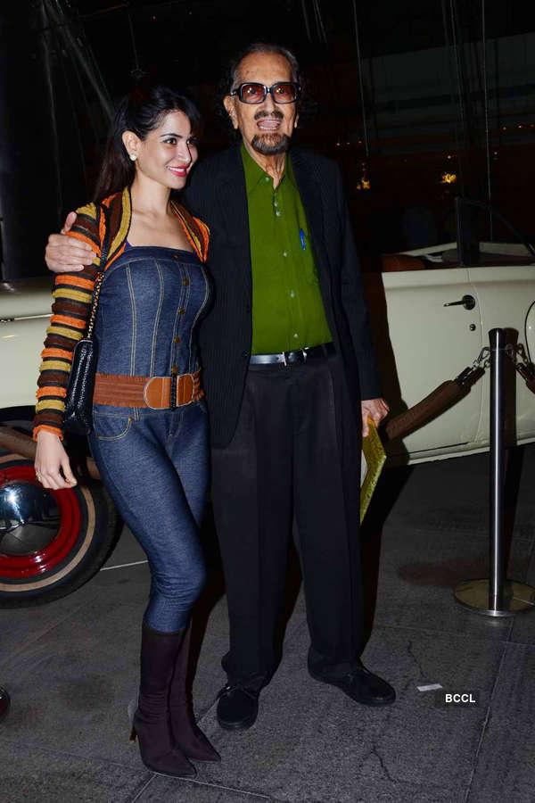 Kabir Bedi, Parveen Dusanj's wedding reception