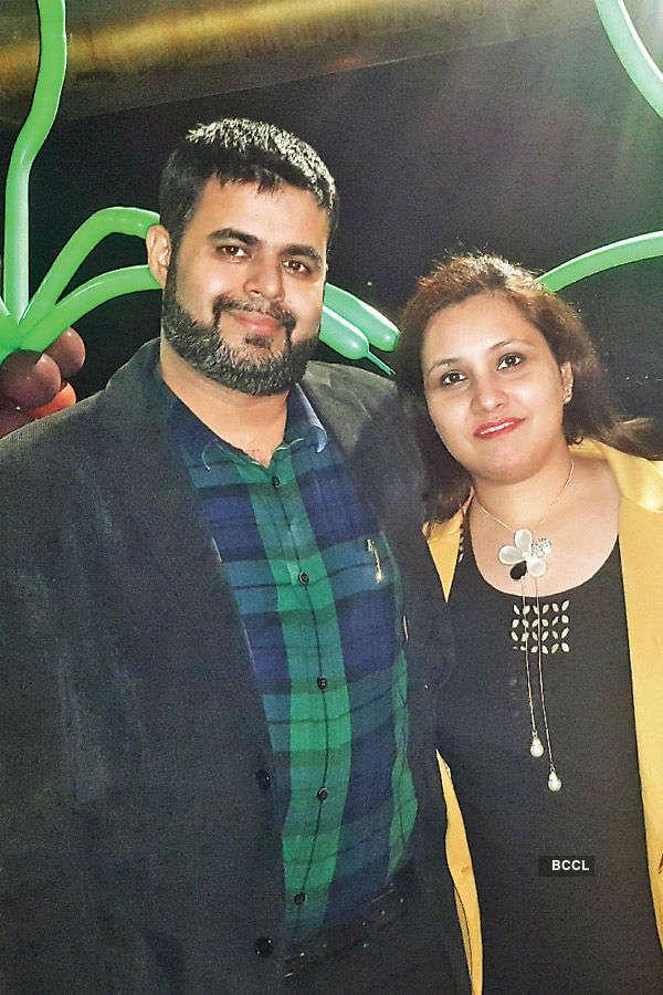 Aadhya and Aanya b'day party