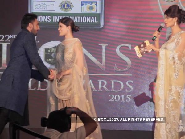 Stunning Asha Bhat awarded by Ranveer Singh