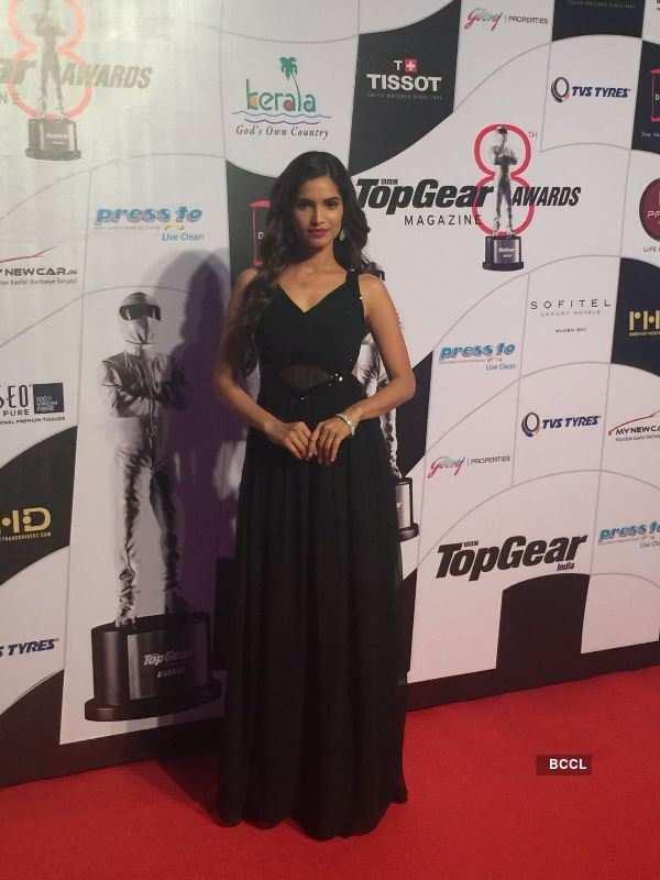 Vartika Singh dazzles at the Top Gear awards