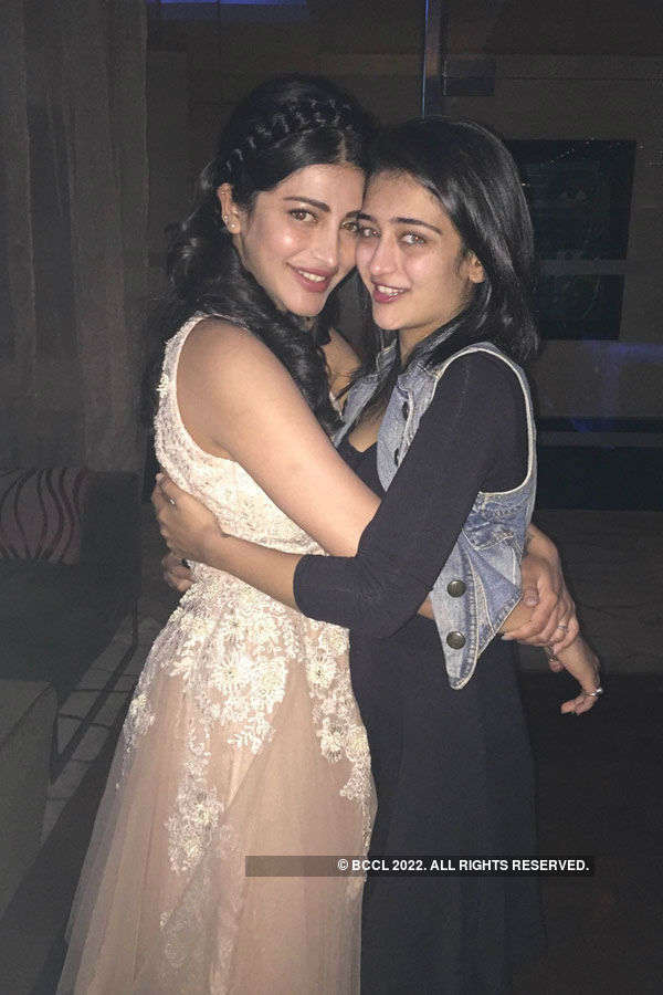 Shruti Haasan's b'day celebration