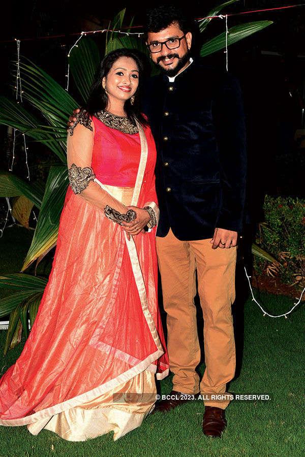 Isvar & Jayashree's Wedding reception
