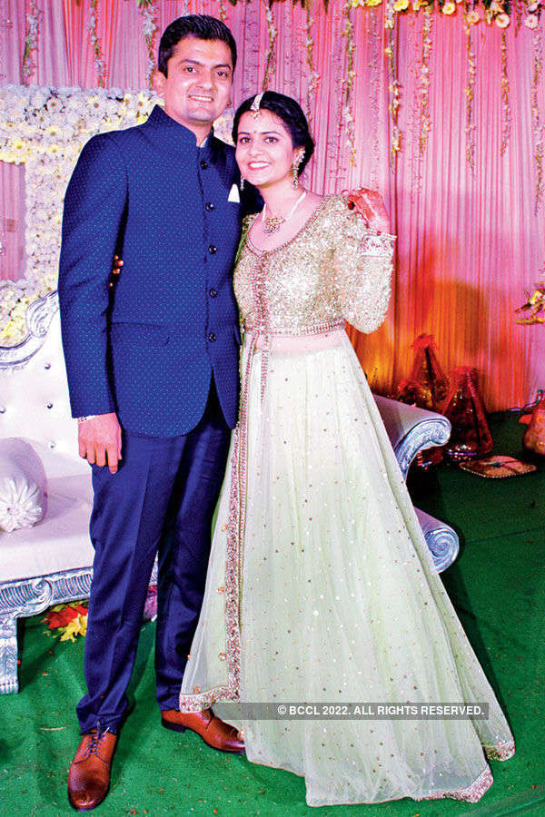 Deepesh & Chandni's  engagement ceremony