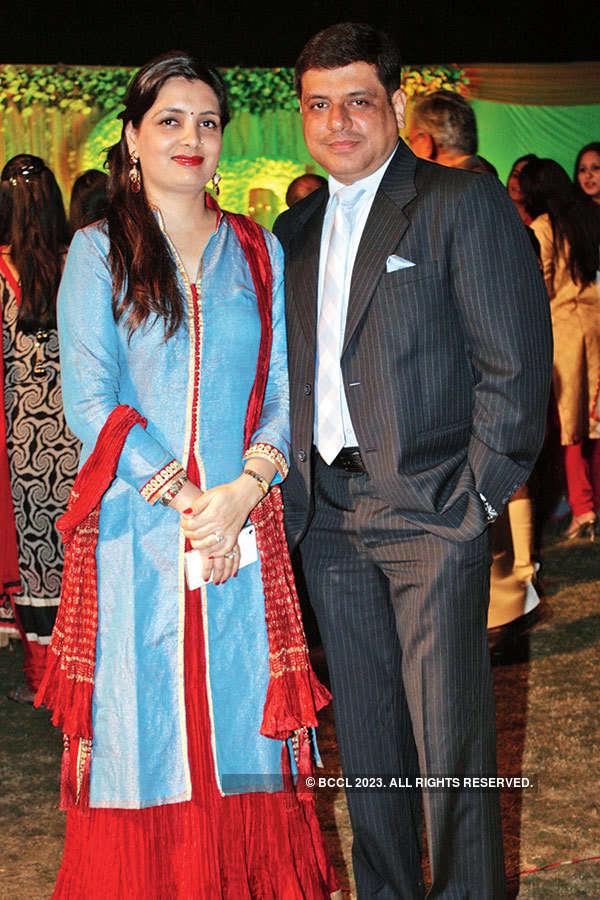 Deepesh & Chandni's  engagement ceremony