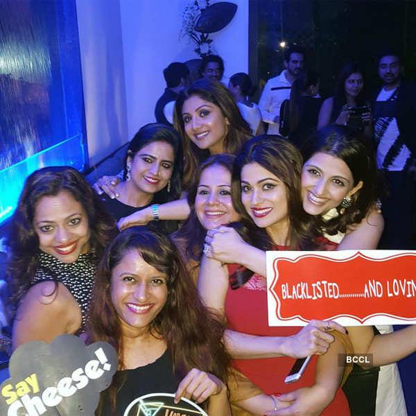 Shamita Shetty's b'day party