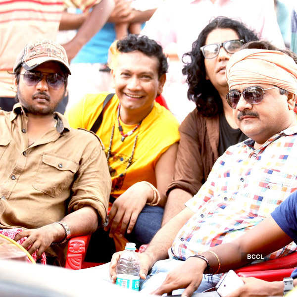 Direct Ishq: On the sets