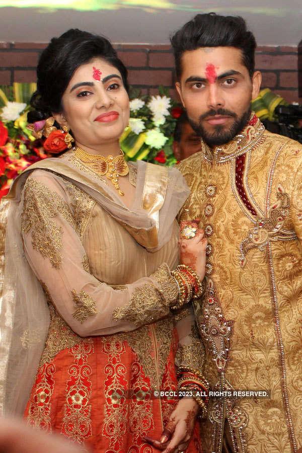 Ravindra Jadeja's engagement ceremony