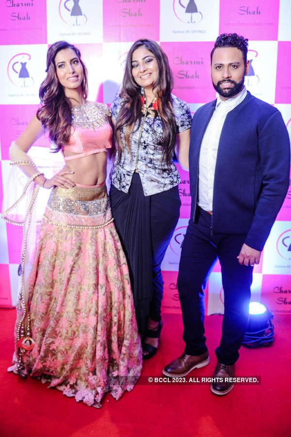 Celebs @ Charmi Shah's fashion show