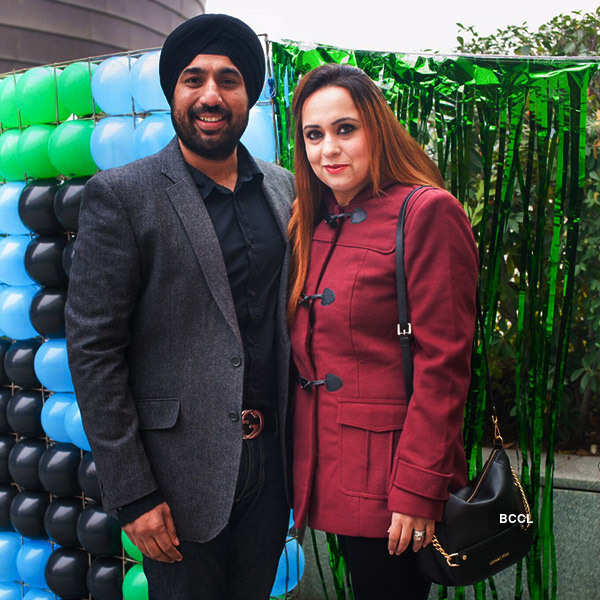 Veer Singh's B'day party