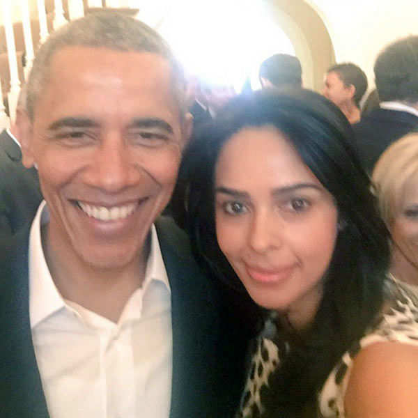 Mallika Sherawa meet President Barack Obama