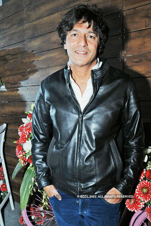 Chunky Pandey at cafe launch