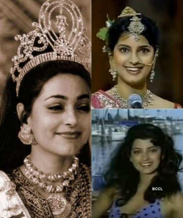 Juhi Chawla Miss Universe 1984