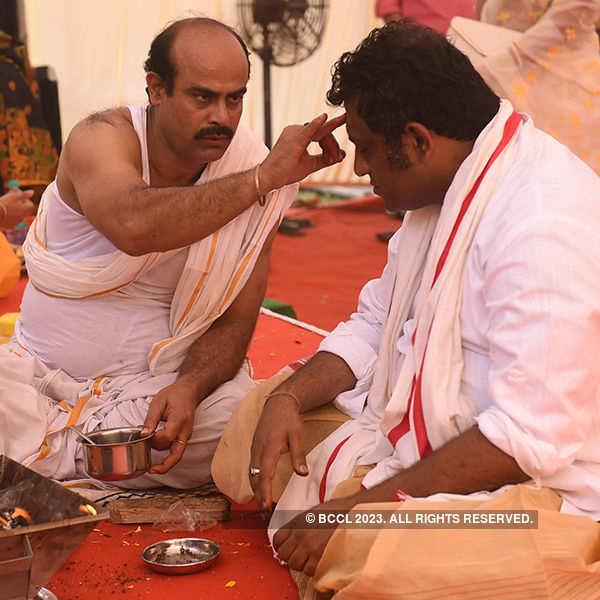 Celebs at Anurag Basu's Saraswati Puja