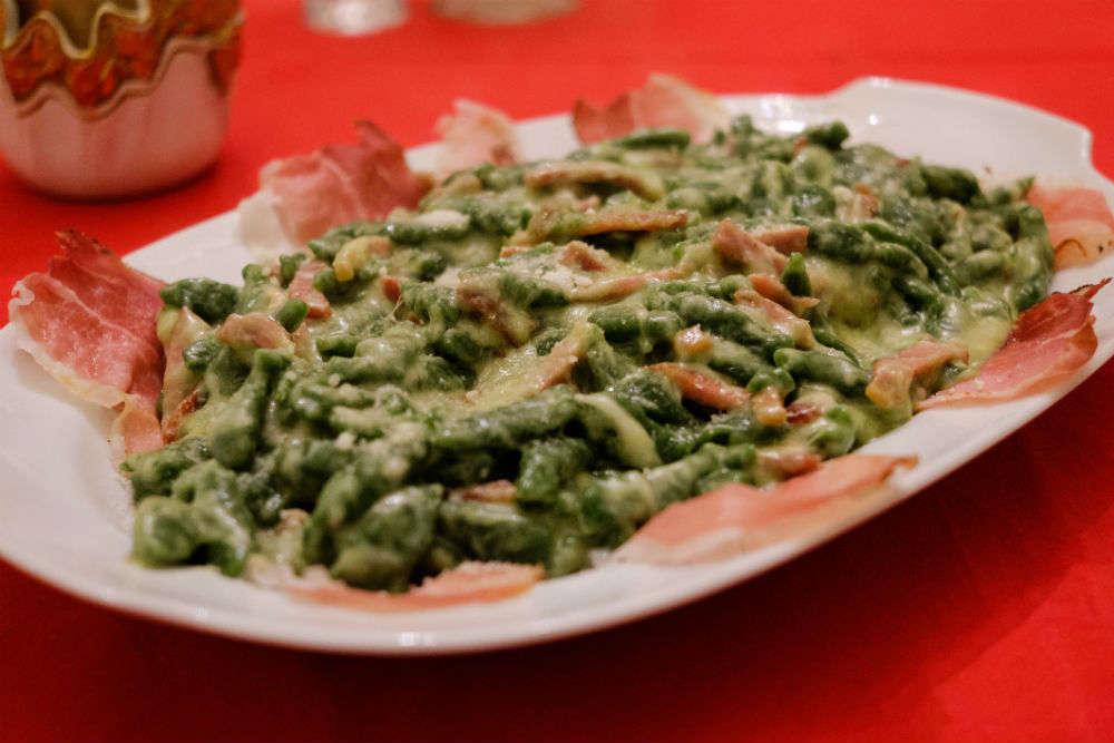 Local cuisine of Bolzano