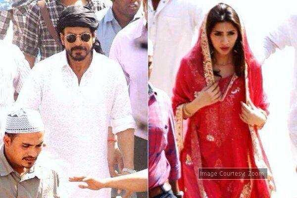 SPOTTED: Shah Rukh Khan and Mahira Khan on the sets of 'Raees'