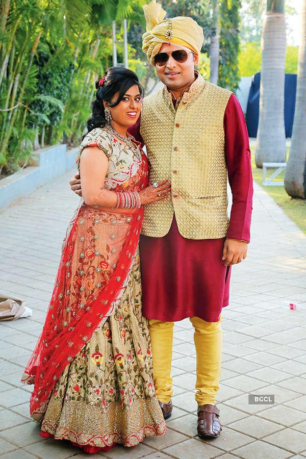 Neeraj & Mugdha's wedding ceremony