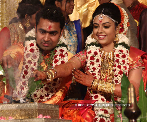 Radhika & Abhil's wedding ceremony