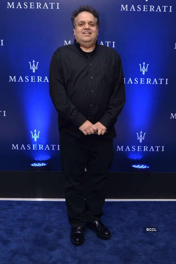 Celebs @ Maserati showroom launch
