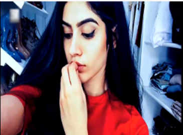 Sridevi's daughter Khushi is already a diva!