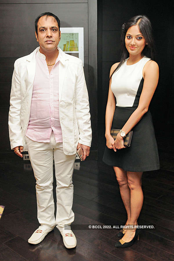 Celebs at a soiree