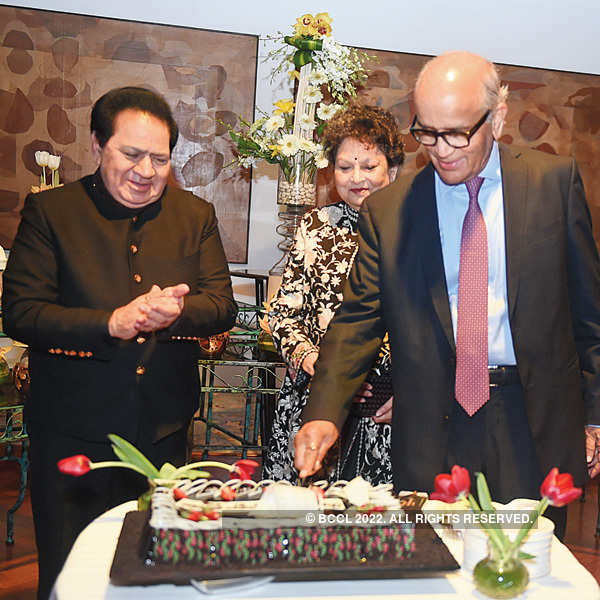 RC Bhargava's felicitation party