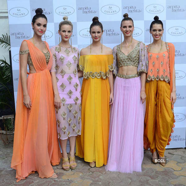 Arpita Mehta and Pooja Dhingra's new collection