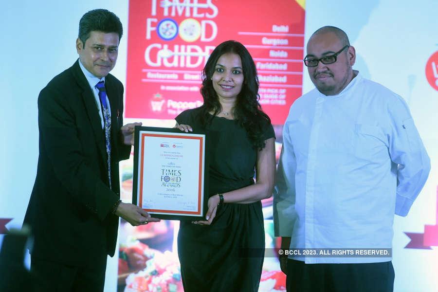 Times Food Guide Awards '16 - Delhi: Winners