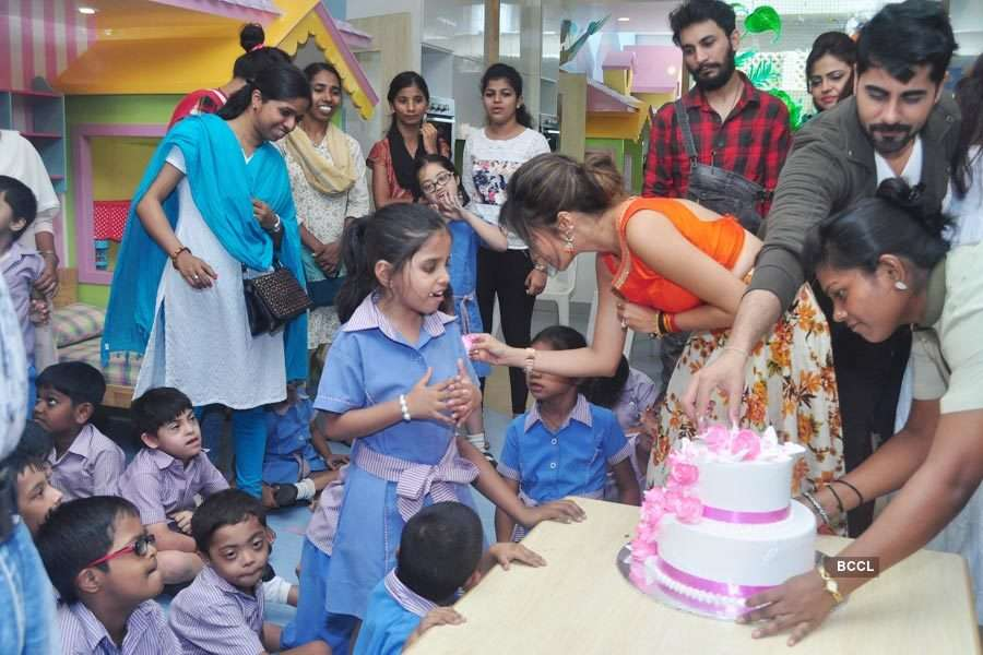 TV celebs @ charity event