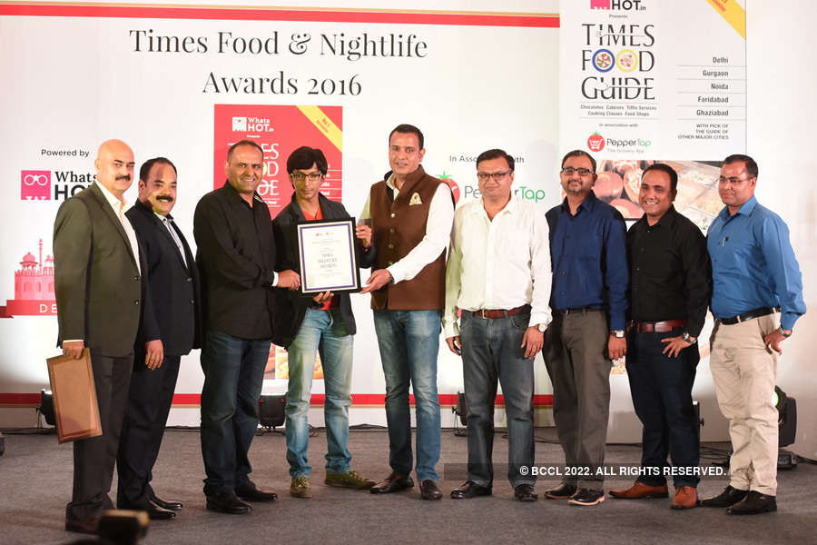 Times Nightlife Awards '16 - Delhi: Winners