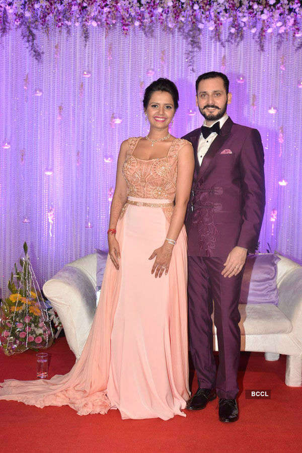 Dipankar & Sweta's wedding reception