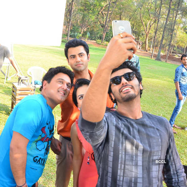 Woh Teri Bhabi Hai Pagle: On the sets