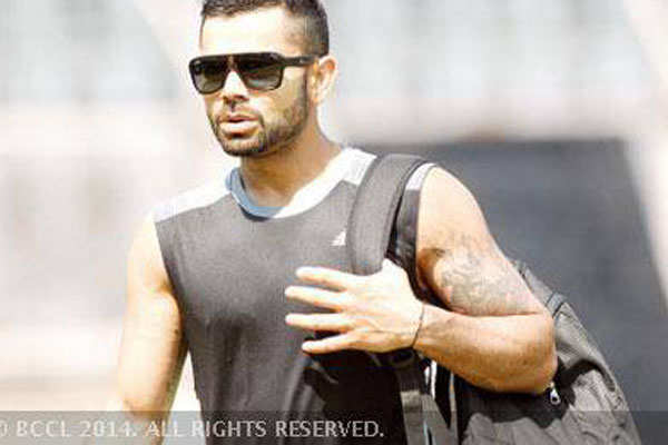 Kohli To Raina Cricketers And Their Tattoos The Times Of India
