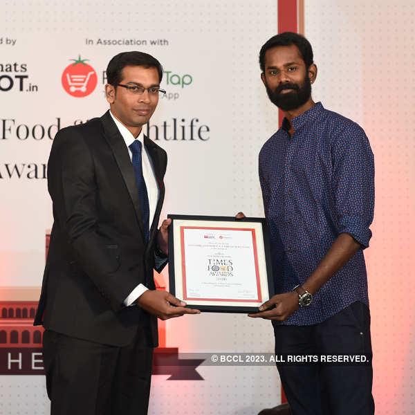 Times Food Guide Awards '16 - Chennai: Winners