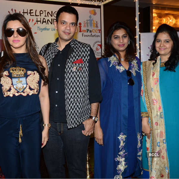 Celebs at Impact Foundation
