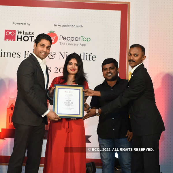 Times Nightlife Awards '16 - Chennai: Winners