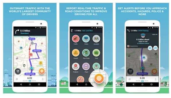 traffic navigation app waze rolls update for android users gadgets now. Black Bedroom Furniture Sets. Home Design Ideas