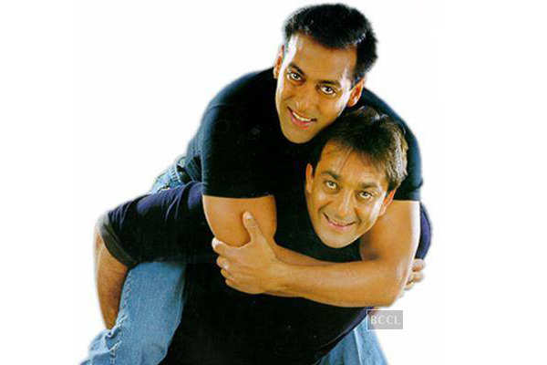 Image result for sanjay dutt salman khan