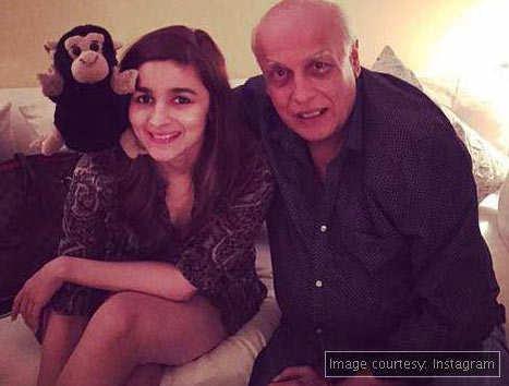 Alia addresses daddy Mahesh Bhatt as 'Gorilla'