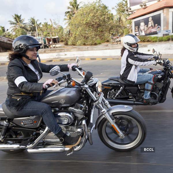 Women on Superbikes