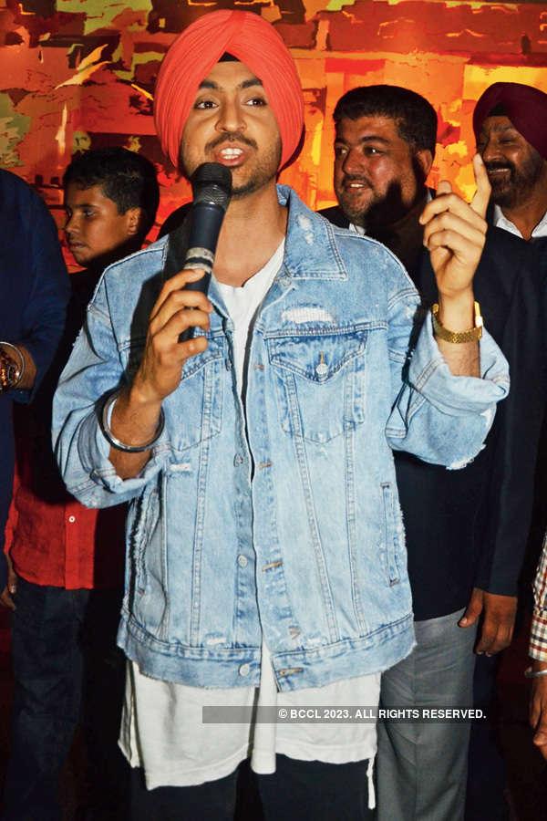 Diljit performs at Hotmess