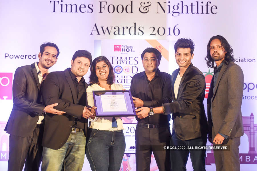 Times Nightlife Awards '16 - Mumbai: Winners