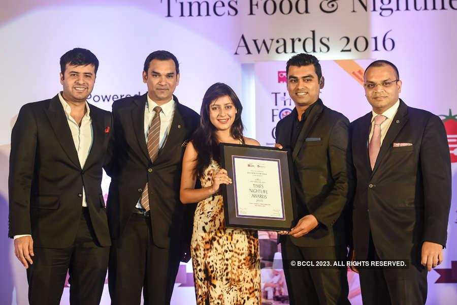Times Nightlife Awards '16 - Mumbai: Winners