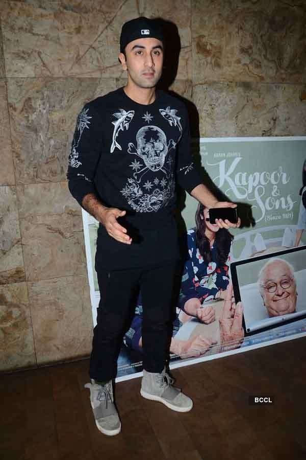 Kapoor and Sons: Screening