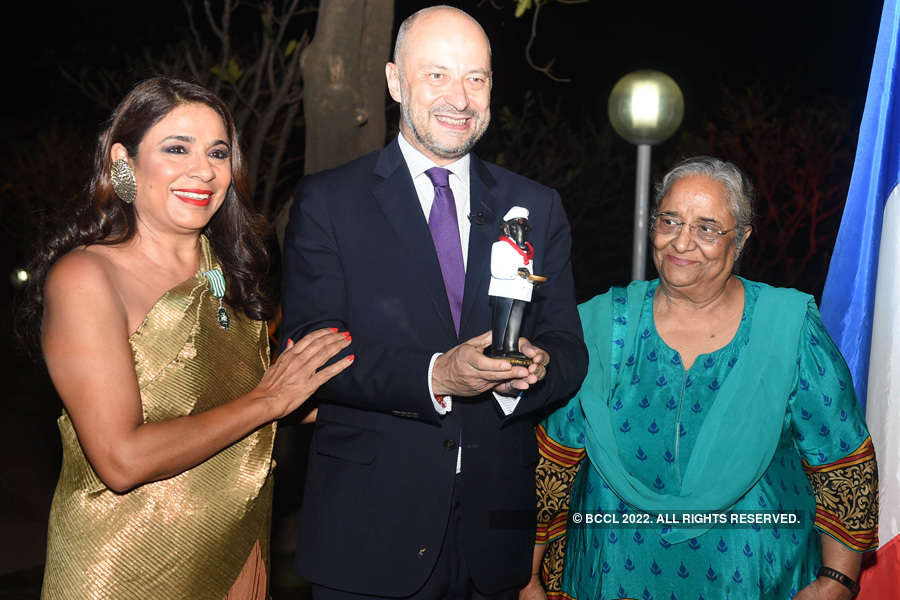 French distinction conferred on Rashmi Uday Singh
