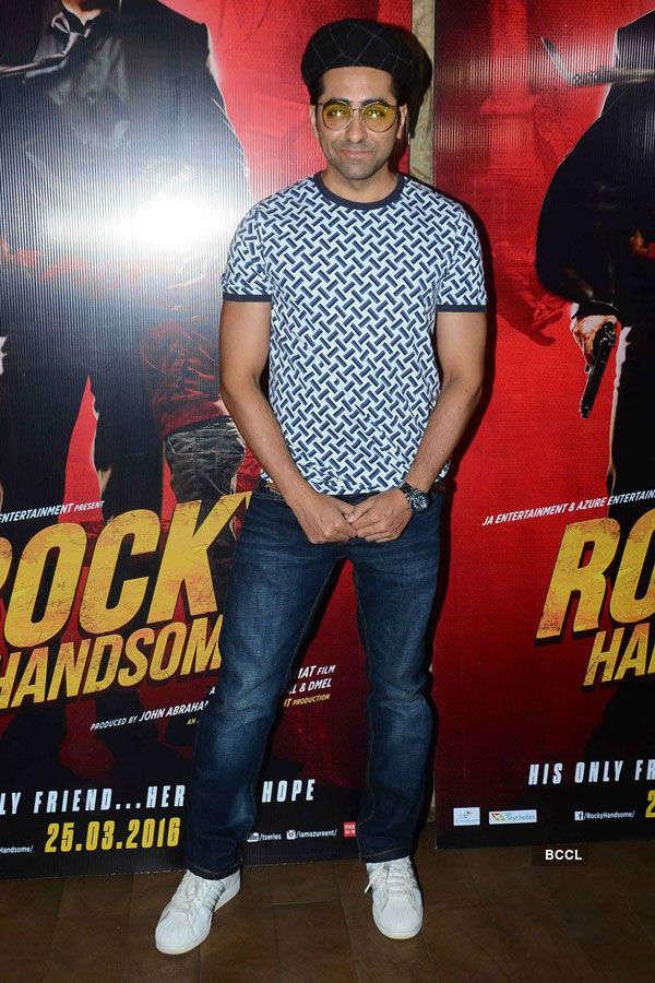 Rocky Handsome: Premiere