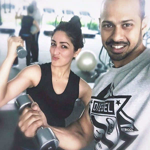 Celebrity Gym Selfies