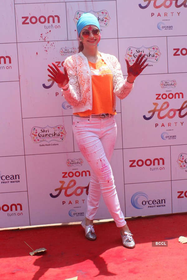 Zoom Holi Party 2016
