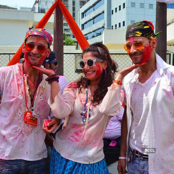 Meet Bros' Holi party